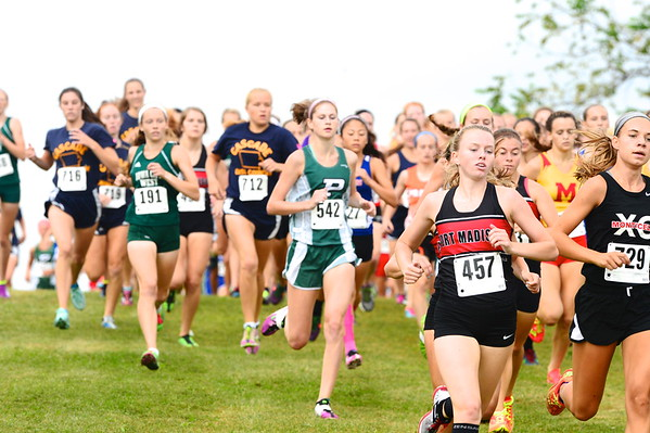 Prairie Cross-country Invitational - Girls 8/29/15
