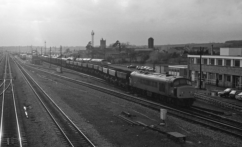 45006, up freight, Severn Tunnel Junction, 15-4-86, p.m.