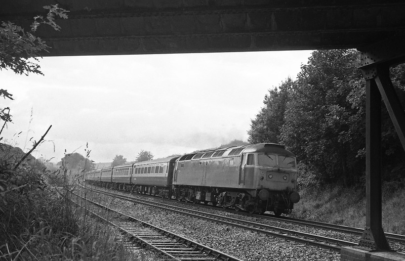 47534, 15-15 Paignton-Nottingham, Whiteball, 30-6-86.