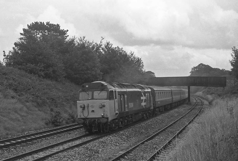50014, 09.26 Bradford-Penzance, Whiteball, 30-8-86.