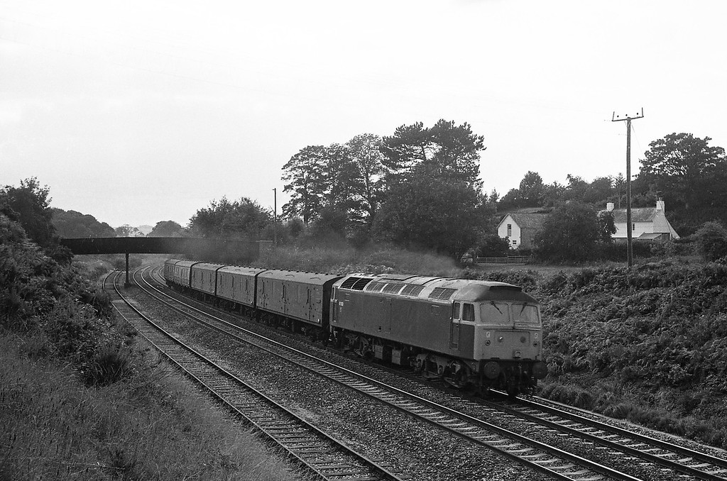 47033, up vans, Whiteball, 30-6-86.