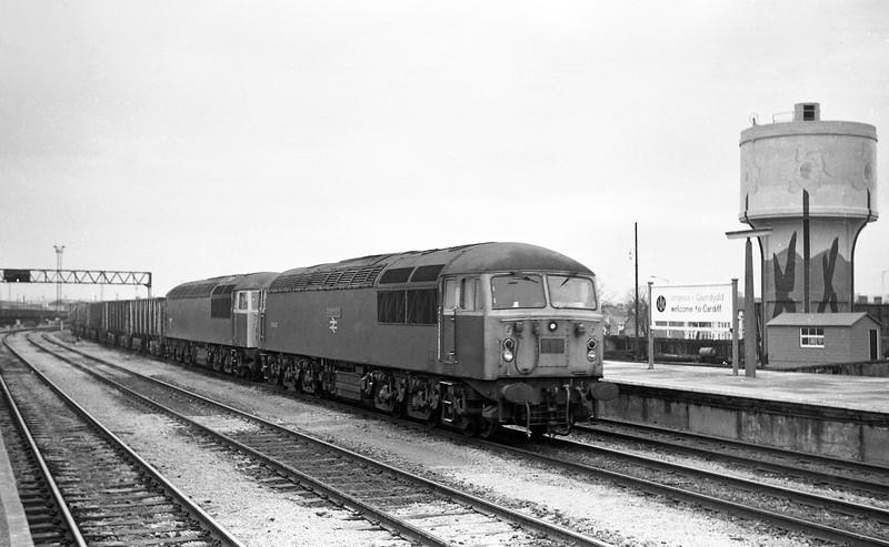 56040/56061, Port Talbot-Llanwern Steelworks, 18-2-86.