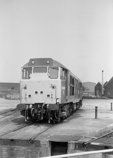 31465, stabled, Old Oak Common TMD, 21-6-86.