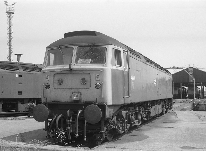 47148, stabled, Old Oak Common TMD, 21-6-86.