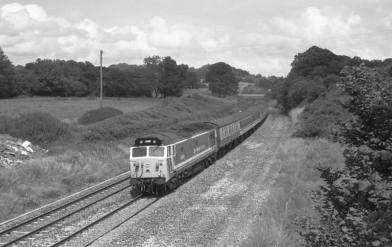 50029,07.20 Glasgow-Penzance, Whiteball, 11-7-87.