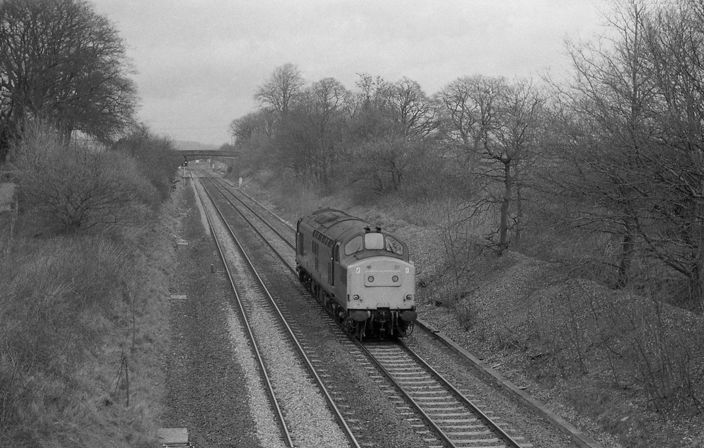 37214, down light, Willand, near Tiverton, 31-3-87.