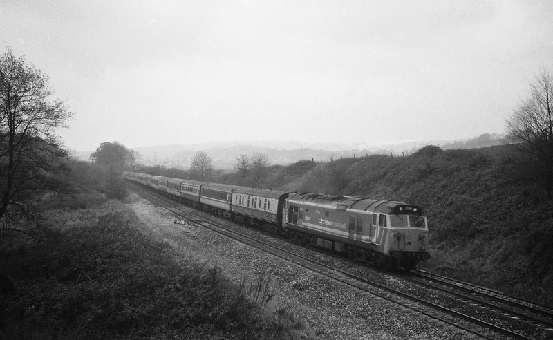 50026, up, Whiteball, 24-11-87.