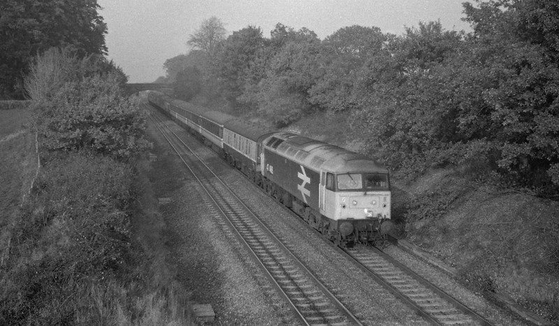 47468, down, Willand, near Tiverton, 3-11-87.