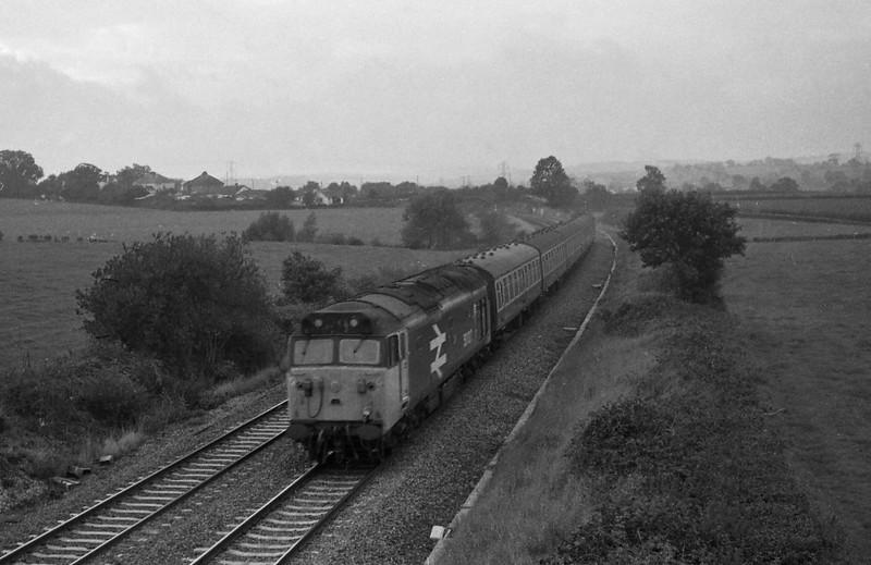 50027, up, Willand, near Tiverton, 5-10-87.
