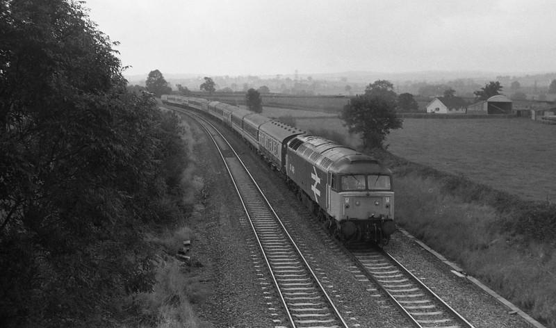 47448, up, Willand, near Tiverton, 5-10-87.