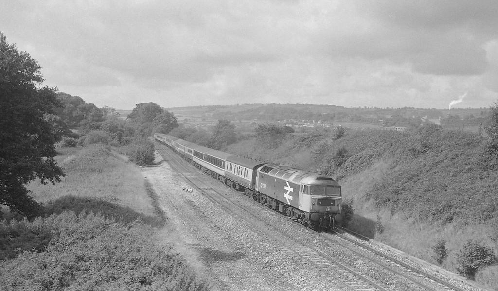 47633, 10.28 Plymouth-Aberdeen, Whiteball, 8-9-87.
