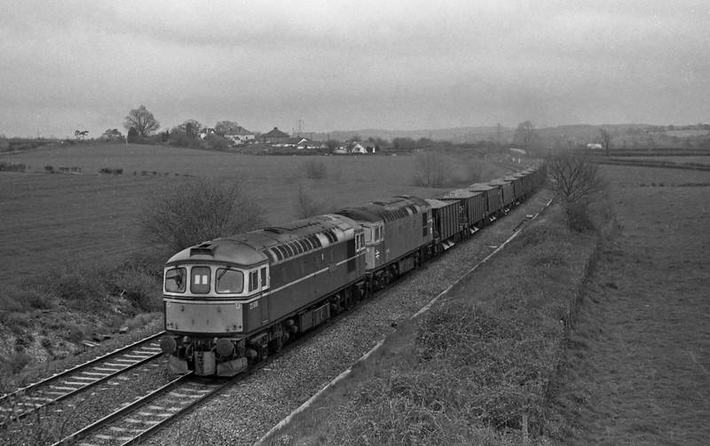 3008/33038, up departmental, Willand, near Tiverton, 19-4-88.