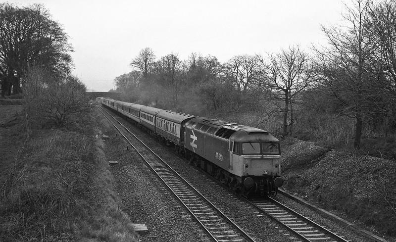 47540, down passenger, Willand, near Tiverton, 19-4-88.