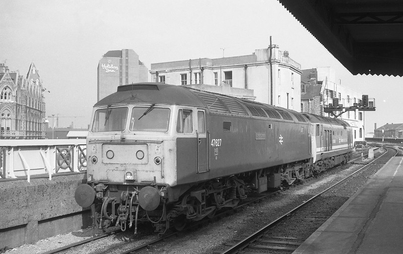 50043/47627, Cardiff Central, 12-4-88.