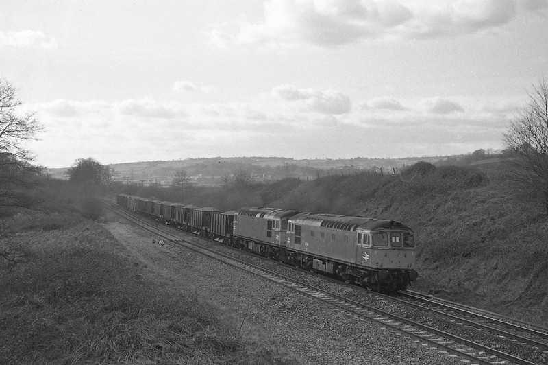 33021/33004, up departmental, Whiteball, 29-2-88.