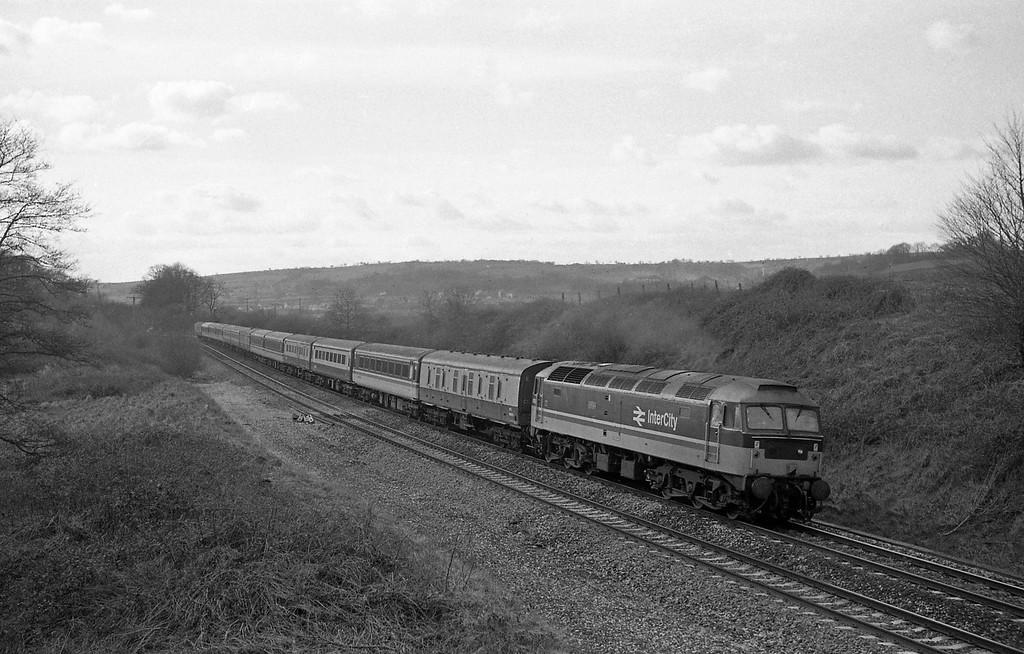 47612, Penzance-Glasgow, Whiteball, 29-2-88.