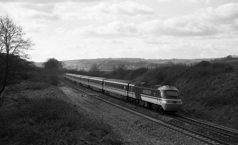 HST, up, Whiteball, 29-2-88.