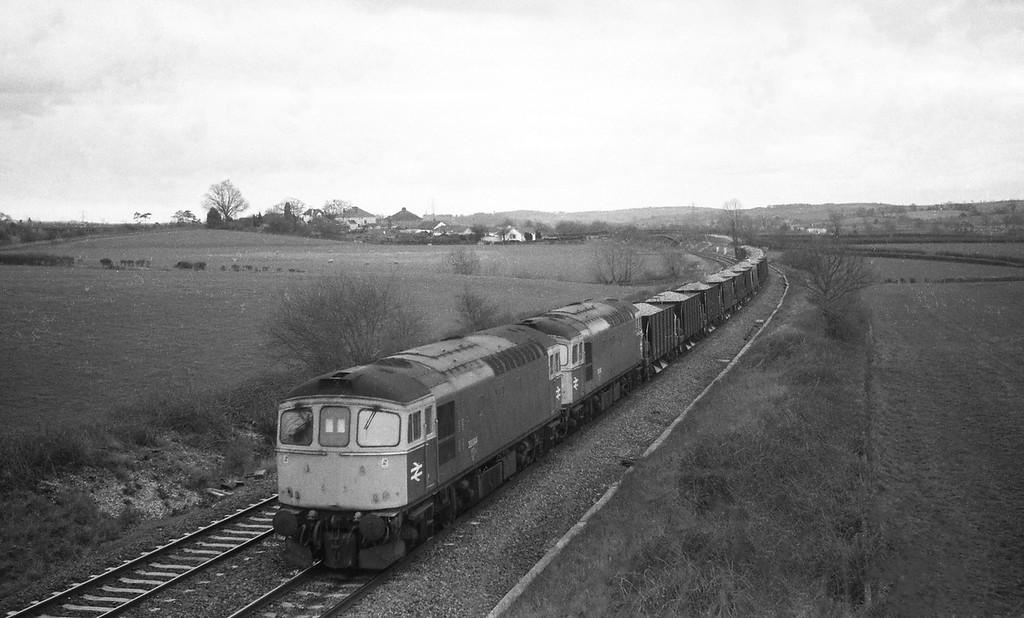 33004/33048, up departmental, Willand, near Tiverton, 8-3-88.