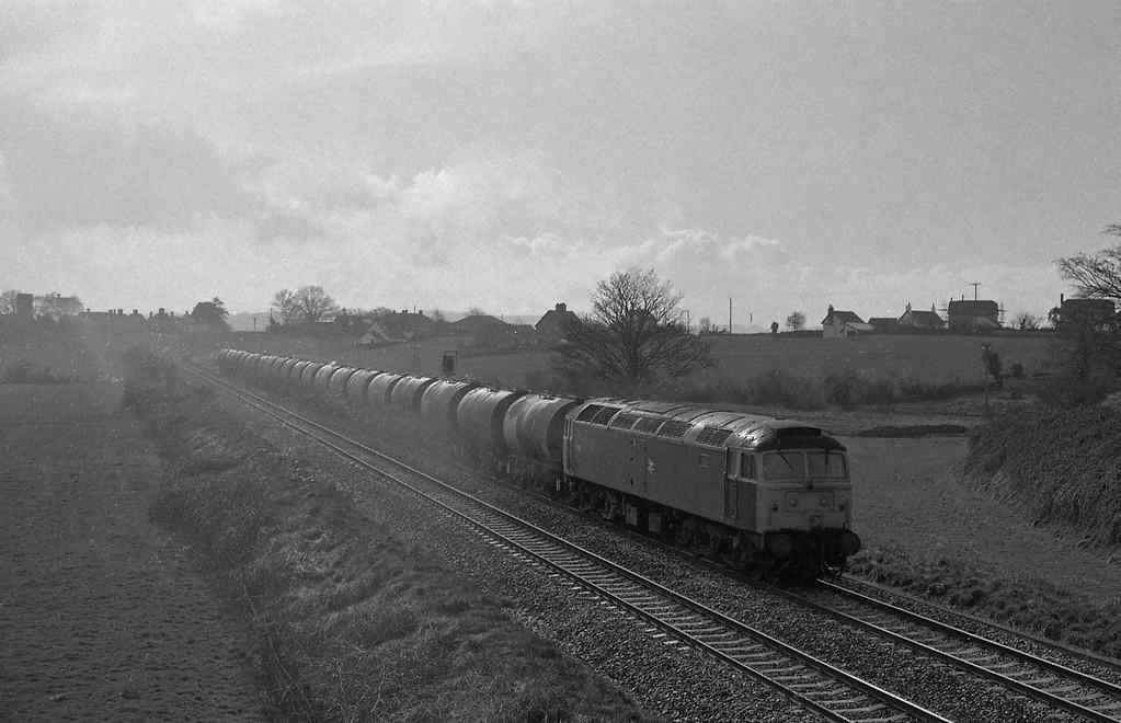 47326, up tanks, Rewe, near Exeter, 15-3-88, heavy rain.