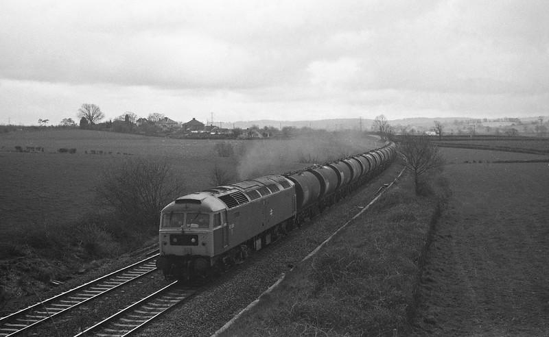 47338, up tanks, Willand, near Tiverton, 29-3-88.