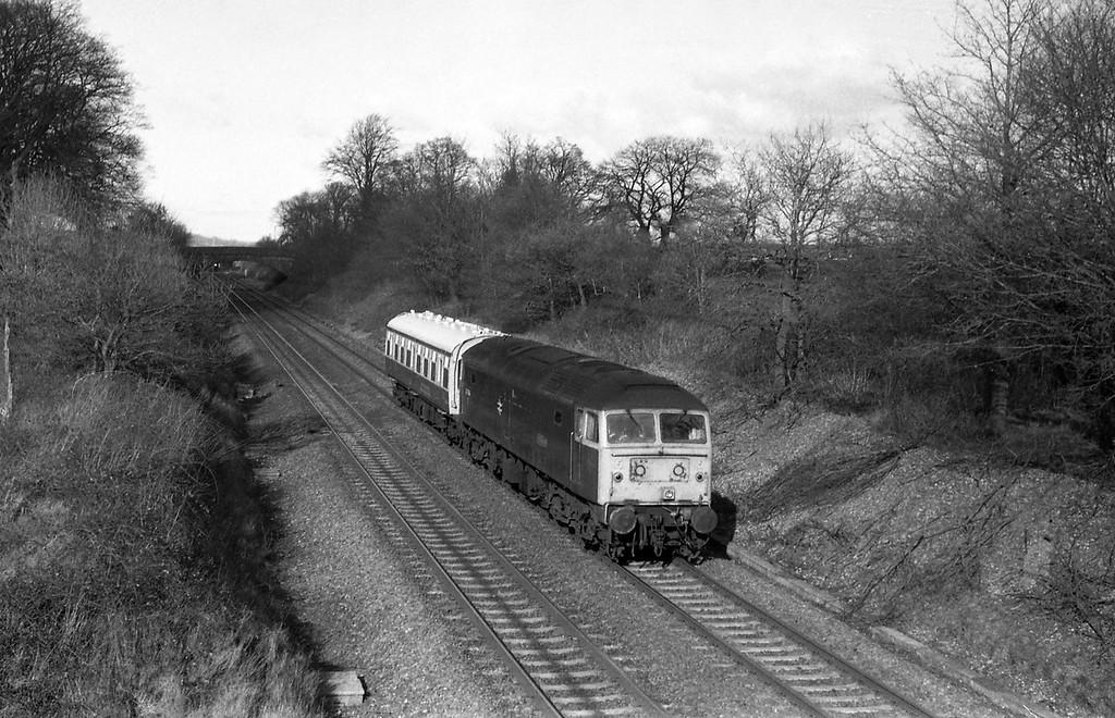 47624, down inspection saloon, Willand, near Tiverton, 1-3-88.