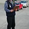 Alan Laine briefs the participants