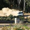 Action at the Maffra hillclimb