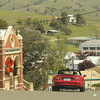 Rolling in to Omeo ...