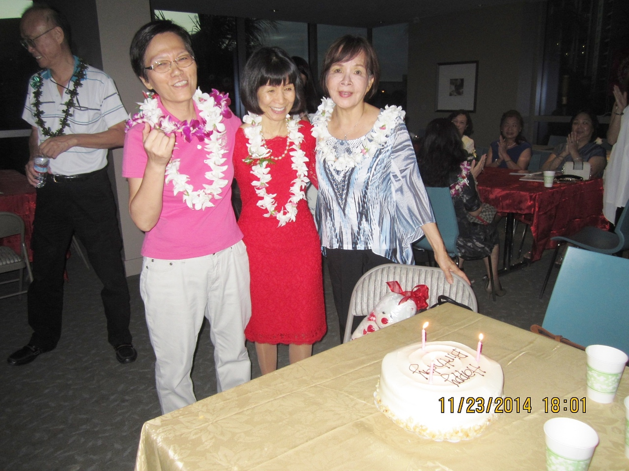 3 November birthday sisters... : Grace - Betty - Patti