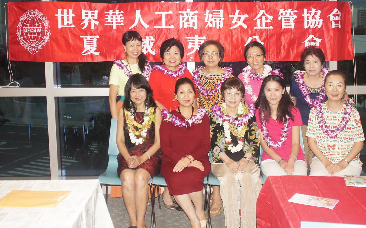 Linda- Li May- Kathy- Jessica - Jennie, back: SJ - Frances - Barbara - Grace - Diana, not in pic: Ina & Stephanie