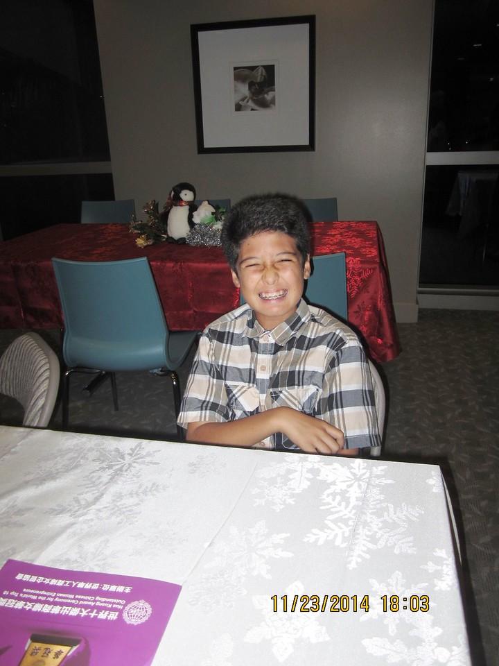 Jennie's 2nd grandson Ashton