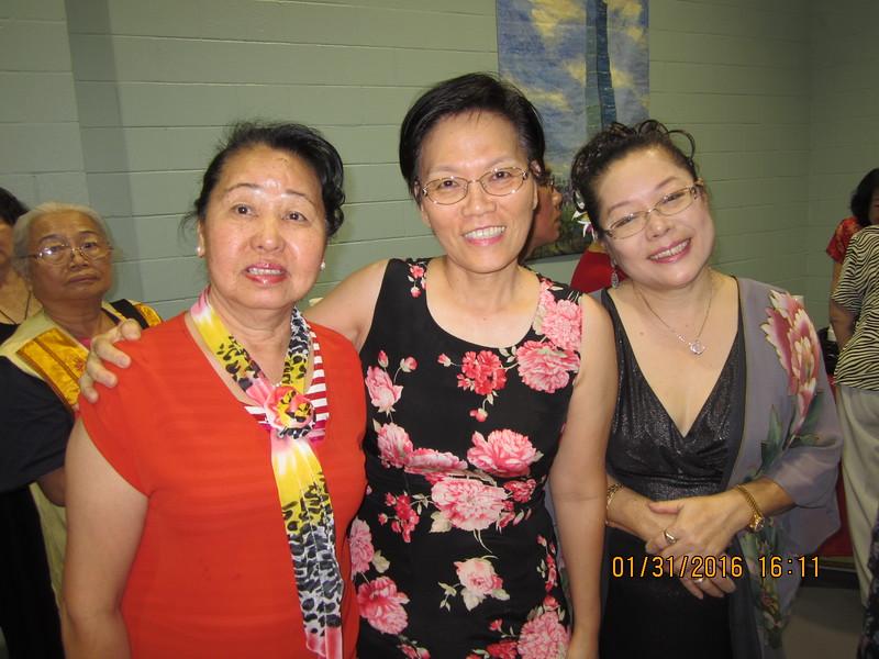 sisters: Fong - Grace - Julie
