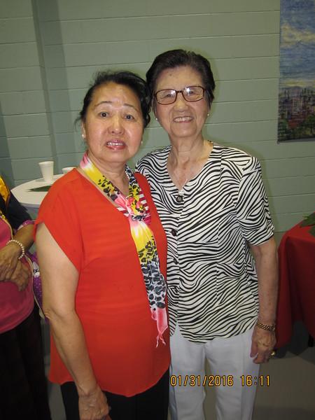 Fong with Li Mama