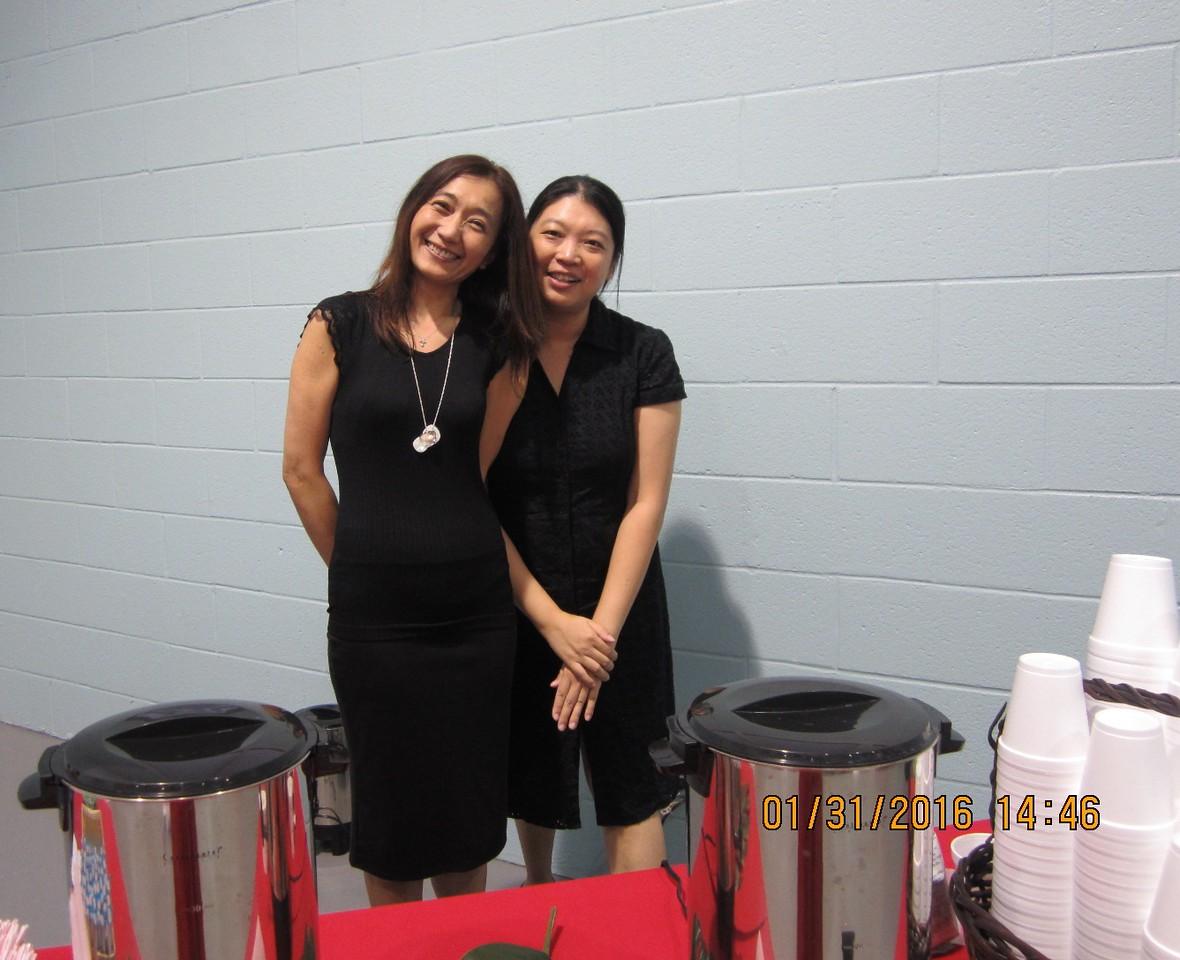 Allison with Sybil