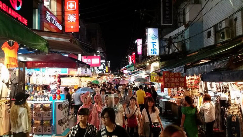 Shi Lin night market..