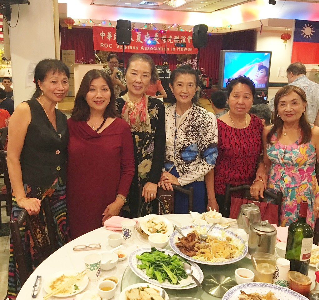 Few of GFCBW sisters: with Li May - Jennie - Elizabeth - Fong -Linda