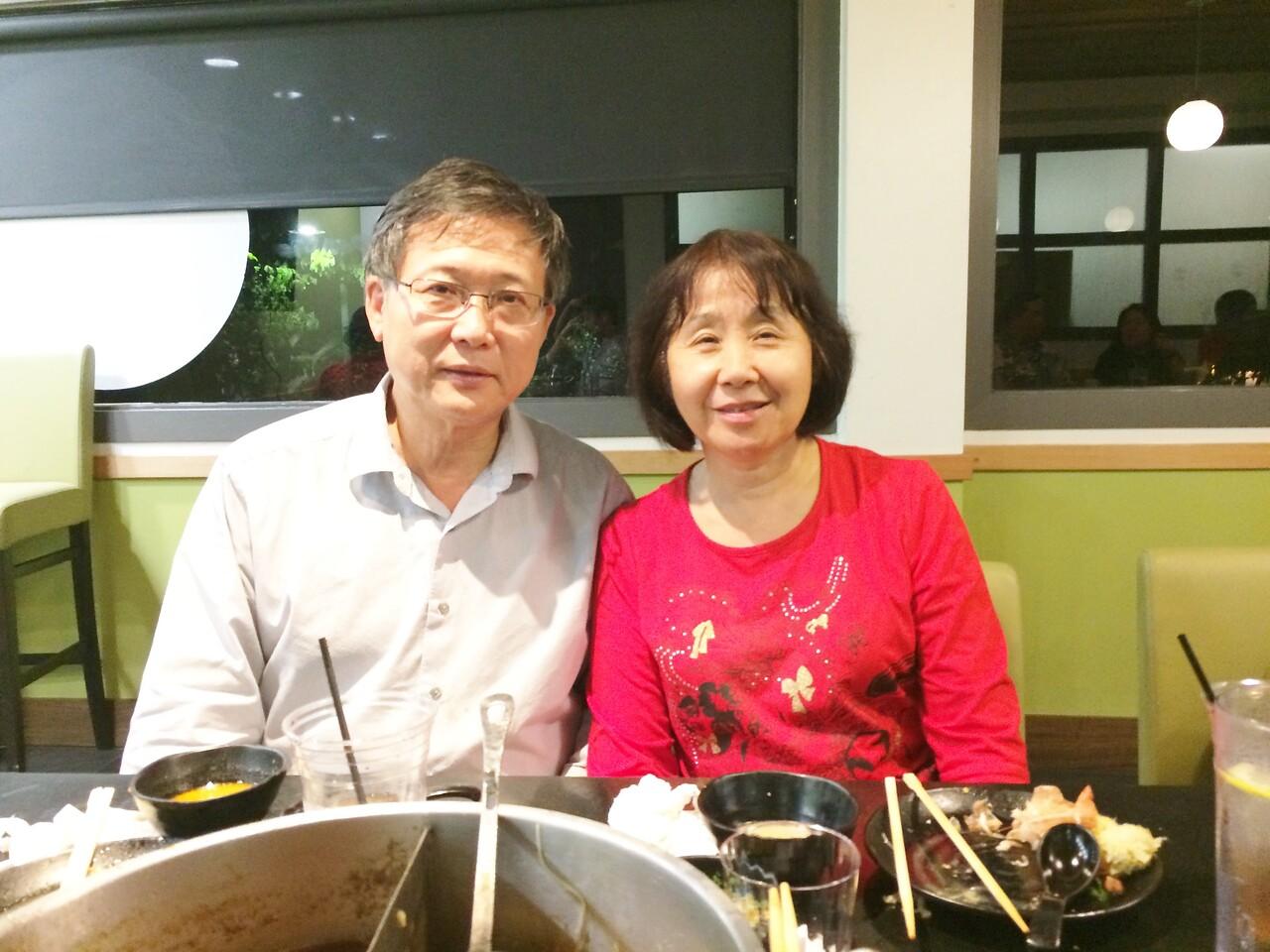 James & Debbie, married 25 years