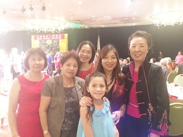 022418  Debbie - Diana - Amy- Li May with Lily - Jennie