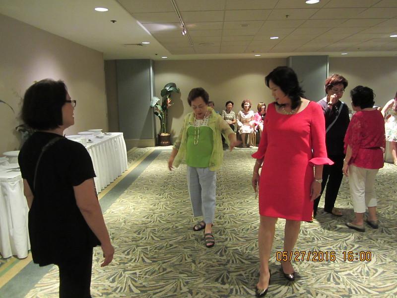 Under special  instruction: Ms. Tsai - Stephanie