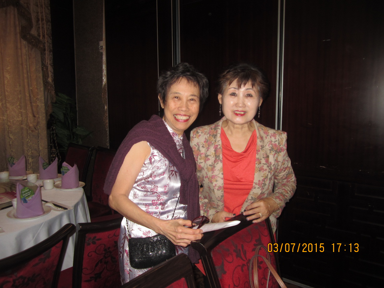 Choo with Jann