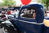 Katie Porter, 10, sits in the 1946 Chevrolet pick up truck that her father Gary Porter, entered in the Ambler Auto Show May 16, 2015.  photo by Bob Raines