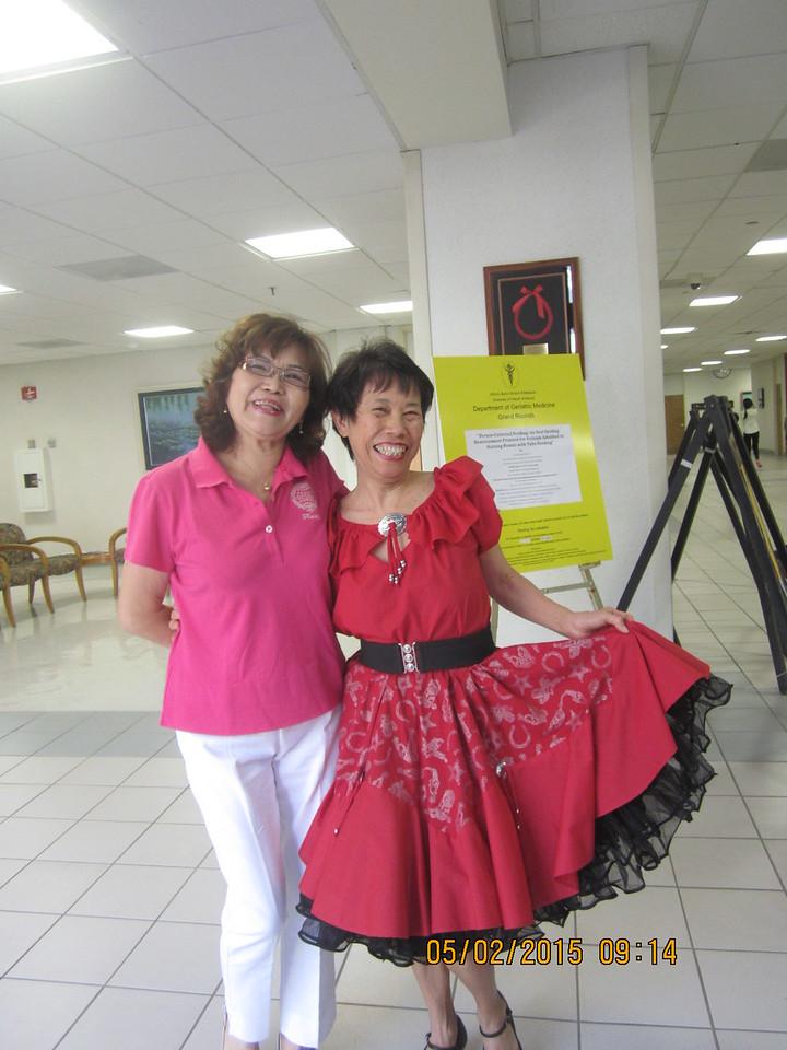 Li Shueh & my guest dancer: Choo