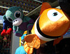 Large stuffed toys wait for a winner to take them home at the June Fete Village Fair Saturday, June 6, 2015.<br /> Bob Raines--Montgomery Media