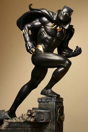 Bowen Designs Black Panther Statue Modern PHASE 2