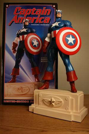 Bowen Designs Captain America Statue Modern Version PHASE 1