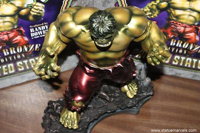Bowen Designs Faux Bronze Hulk Statue PHASE 4