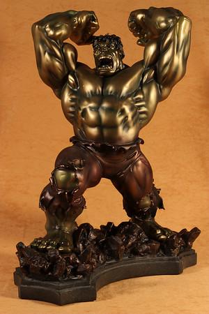 Bowen Designs Faux Bronze Hulk Statue PHASE 3