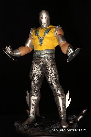 Bowen Designs Gladiator Statue PHASE 4