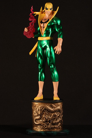 Bowen Designs Iron Fist Statue PHASE 3