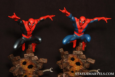Bowen Designs Spider-Man Action Statue Marvels Exclusive Statue